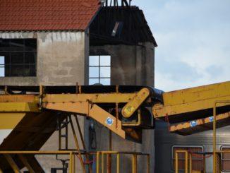 Portugal, Entroncamento – construction site, Nov.2014