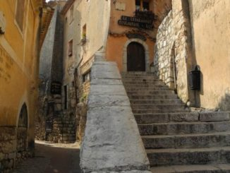 France, Eze – staircase, 2011