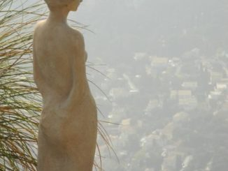 France, Eze – looking down, 2011