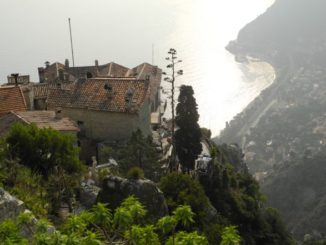 France, Eze – from the top, 2011