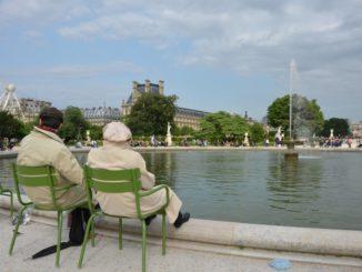 Descanso en un parque