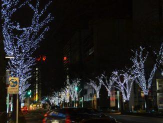 Japan, Fukuoka – Xmas light 6, Jan.2014