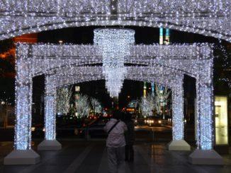 Japan, Fukuoka – Xmas light 4, Jan.2014