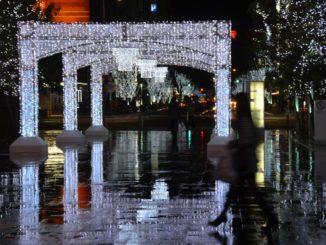 Japan, Fukuoka – Xmas light 2, Jan.2014