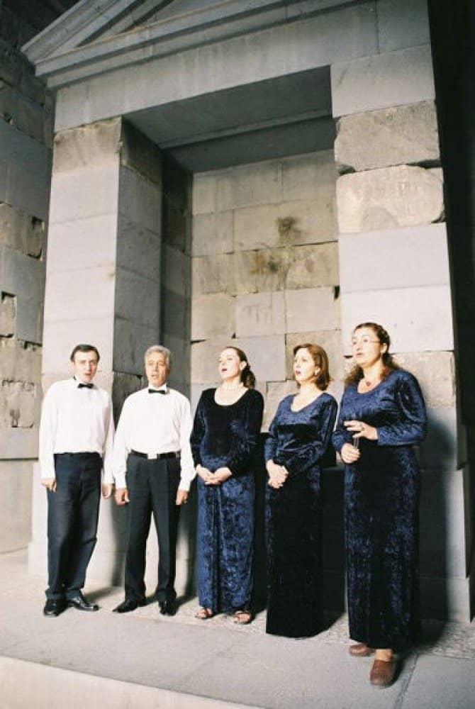 Singing voice at Garni Temple