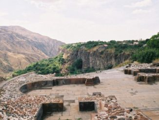 Armenia, Garni – ruin, Autumn 2005