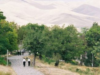 Armenia, Garni – hills over there, Autumn 2005