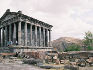 Armenia, Garni – temple, Autumn 2005