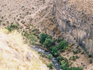 Armenia, Garni – river, Autumn 2005