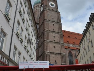 Germany, Munich – clock, May 2013