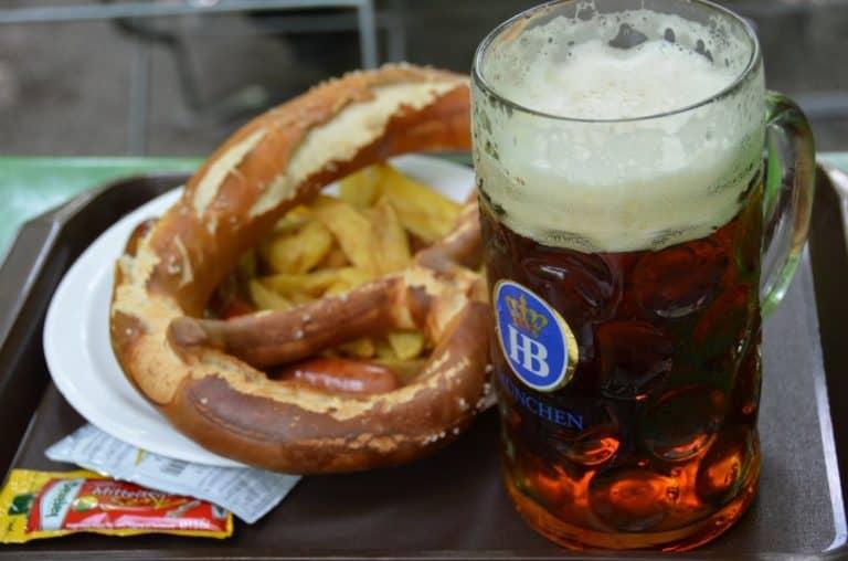 The oldest beer garden in Munich