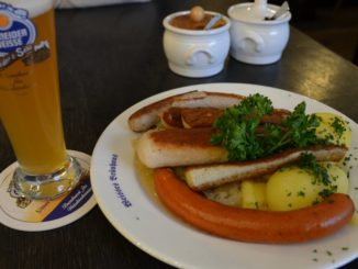 Germany, Munich – sausages, May 2013