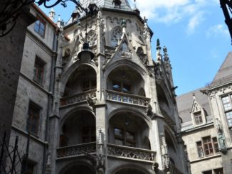 Germany, Munich – old building, May 2013