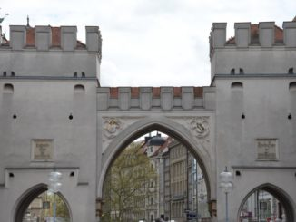 Germany, Munich – gate, May 2013