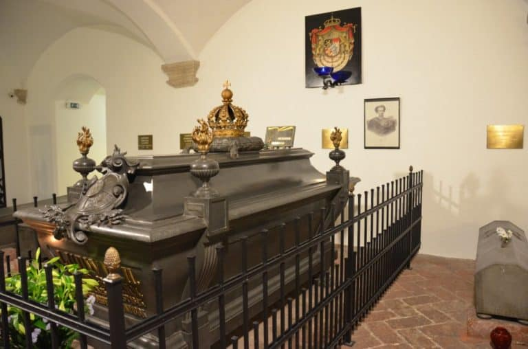 Coffin of Ludwig 2nd
