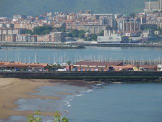 Spain, Getxo – view, May 2014
