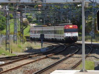 Spain, Getxo – Train, May 2014