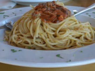 Greece, Mykonos – spaghetti, Sept.2013