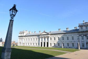 A Greenwich in un giorno di sole