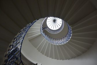 The Beautiful Staircase in Queen's House in Greenwich