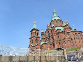 La cattedrale di Uspenski a Helsinki