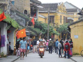 La citta' di Hoi An in Vietnam