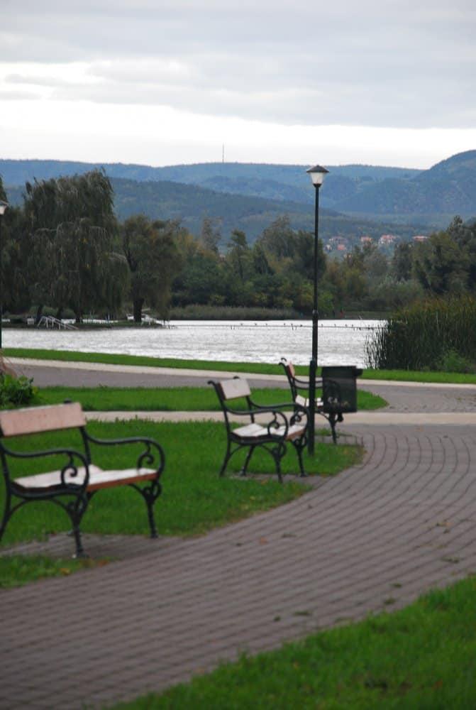 Ungheria, Lago Balaton – panchine, 2010