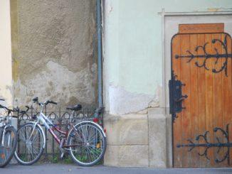 Hungary, Keszthely – door, 2010