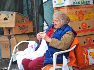 Hungary, Keszthely – knitting, 2010