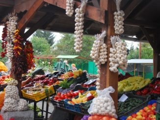 Hungary, Keszthely – market, 2010