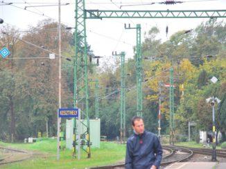 Hungary, Keszthely – railway, 2010