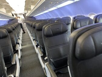 quite empty flight