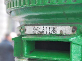 Ireland, Dublin – pillar box, July 2011