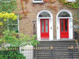 Ireland, Dublin – red doors, July 2011