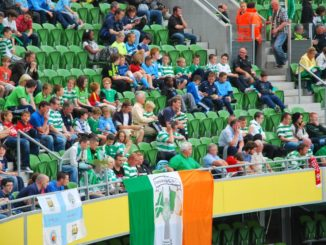 Ireland, Dublin – flags, July 2011