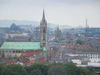 Ireland, Dublin – view, July2011