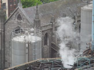 Ireland, Dublin – smoke, July 2011