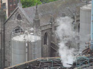 Ireland, Dublin – smoke, July 2011