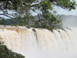 Brasile cascate dell'Iguazu