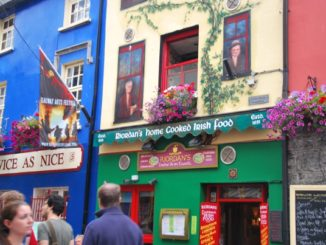 Ireland, Galway – colourful, 2011