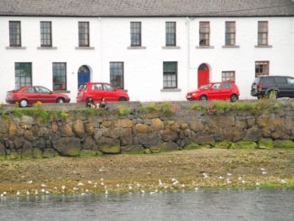 Ireland, Galway – red cars, 2011