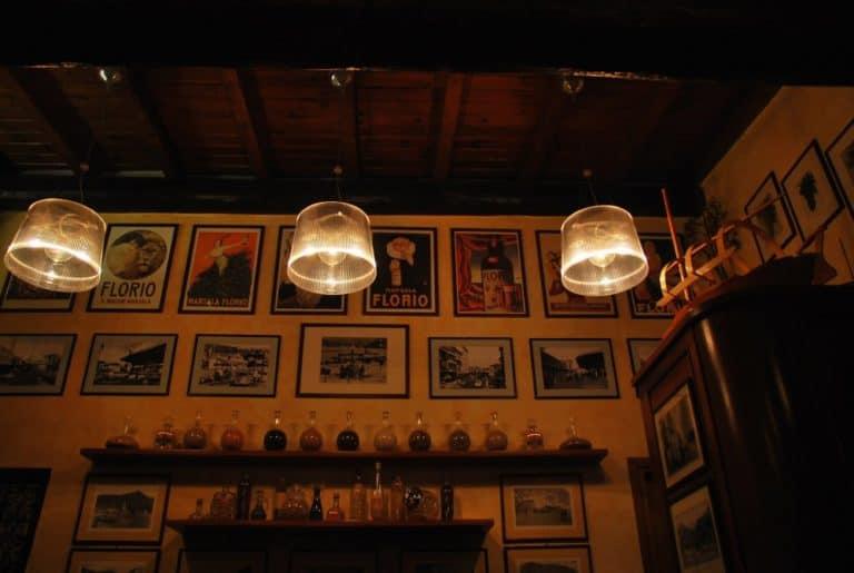 チェルノッビオのレストラン