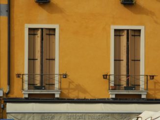 Italy, Padua – two windows 2011