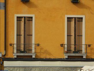 Italy, Padua – two windows 2011