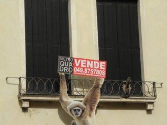 Italy, Padua – sale sign 2011