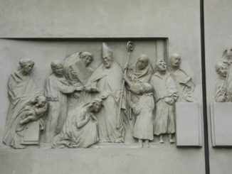 Italy, Padua – carvings of door 2011
