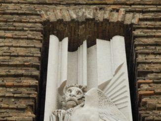Italy, Padua – wall of church 2011