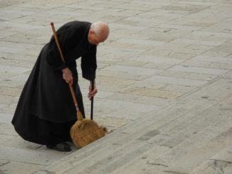 Italy, Padua – monk 2011
