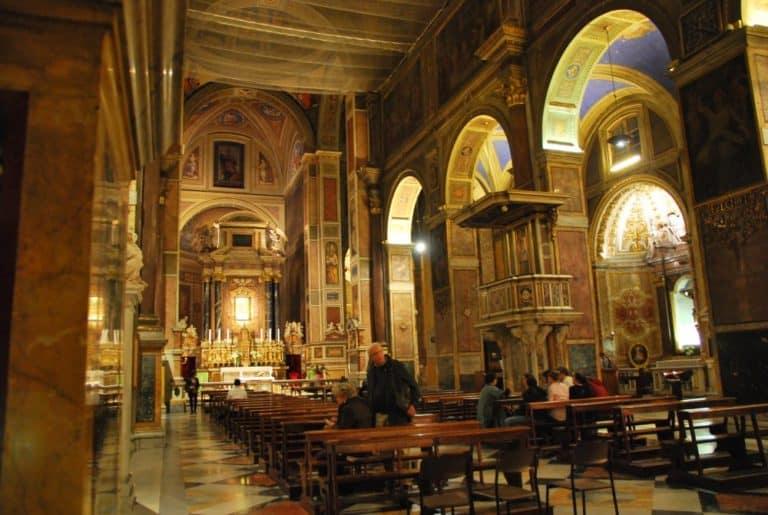 Troppe cose magnifiche… Basilica di Sant'Agostino a Roma