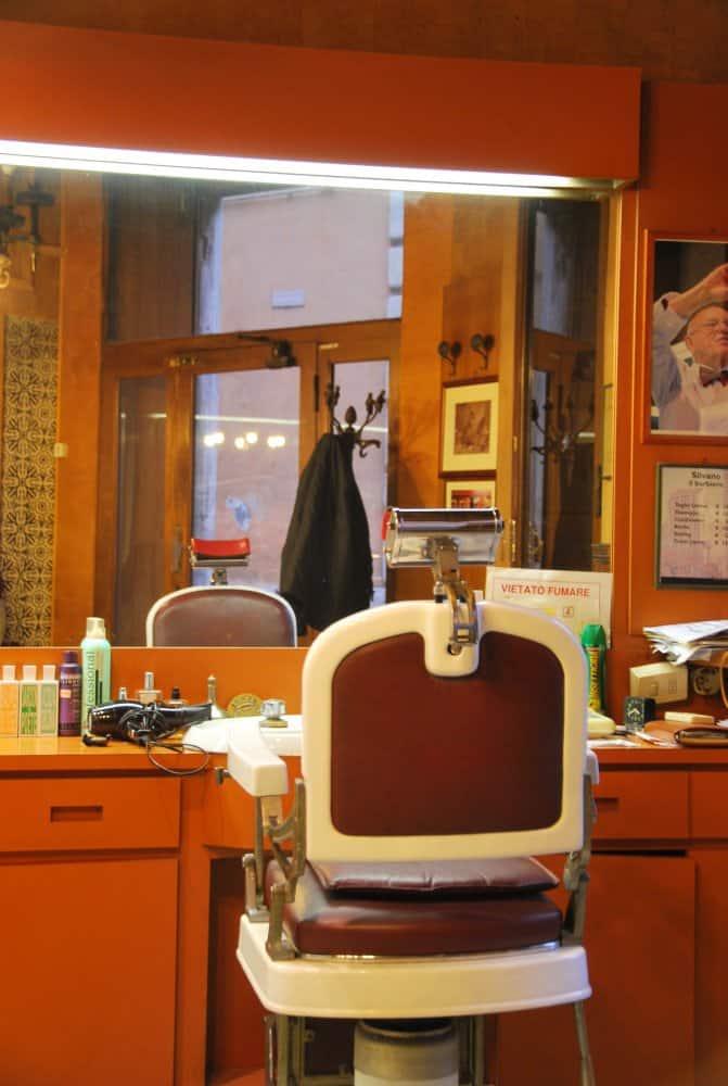 Silvano barbiere a Roma